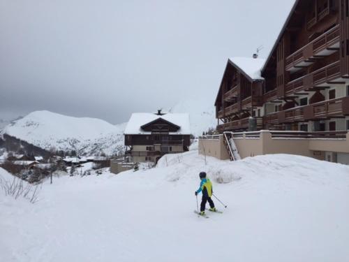 balcon des pistes Les Deux Alpes