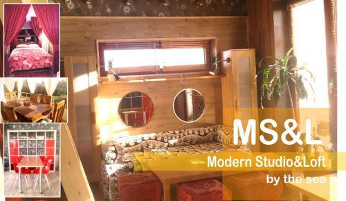 . MODERN Studio & Loft by the Sea