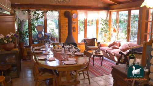 Alojamiento Rural Casa Quinta Peumayen - Accommodation - Isla de Maipo