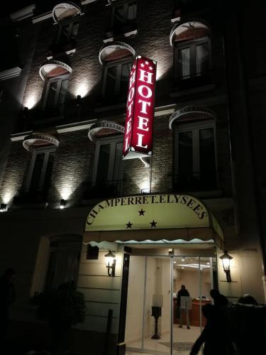 Hotel Champerret Elysees photo 36