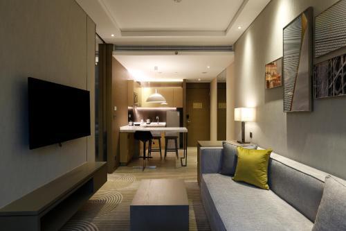 Hyatt House Shanghai Hongqiao CBD Люкс с кроватью размера