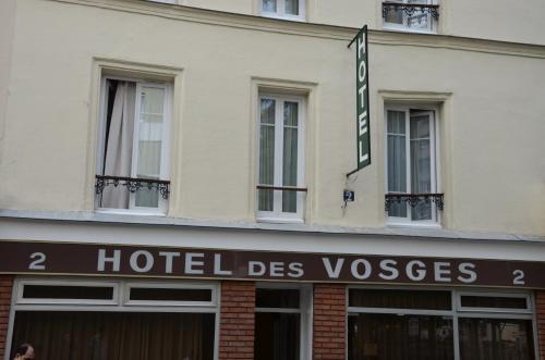 Hotel des Vosges - Hôtel - Paris