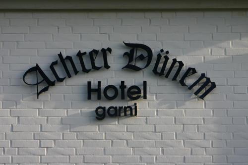 . Hotel Achter Dünem
