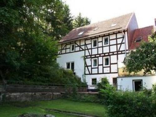 Hotel-overnachting met je hond in Apartment Alte Wassermühle 2 - Vöhl
