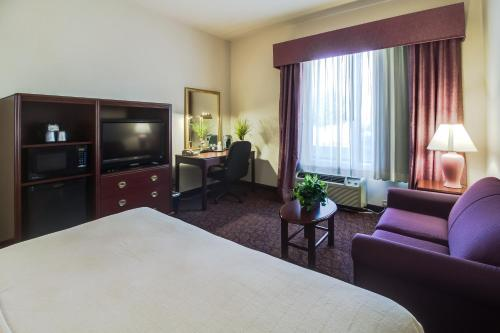 Ashmore Inn and Suites Amarillo King Room with Sofa Bed
