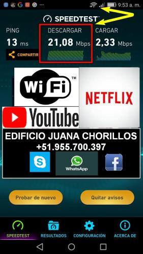 HotelEdificio Juana Chorrillos