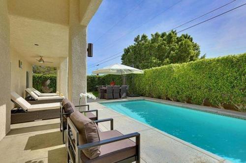 Casa Santa Fe-pool-4br/2.5ba - Palm Springs, CA 92262