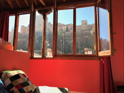 Quadruple Room with Alhambra View
