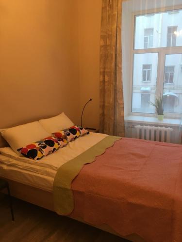 МК Отель Краски Двухместный номер с 1 кроватью и общей ванной комнатой
