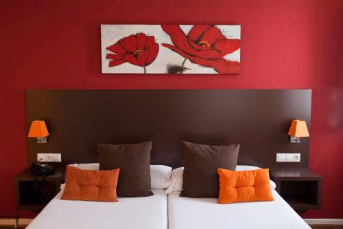Twin Room Hotel Arrope 22