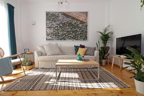 Lena's Central Relaxed Eco Apartment foto della camera