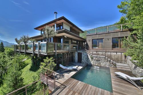 SavoieLac - Villa Hollywood - Accommodation - Sévrier