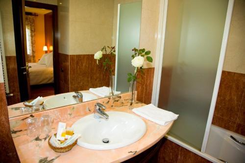 Suite con chimenea y acceso al spa Hotel Del Lago 36
