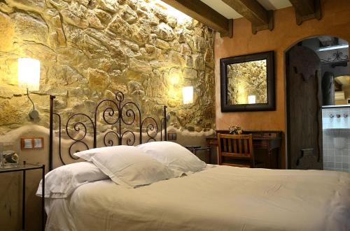 Small Double Room Hotel Galena Mas Comangau 6
