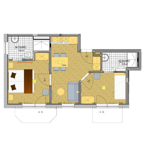 Family Apartment (4-5 persons)