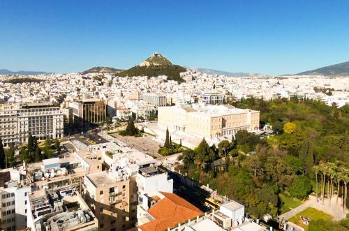 Athens heart, Syntagma metro studio, Pension in Athen