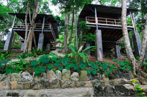Bungalow Deluxe dengan Pemandangan Laut (Deluxe Bungalow with Sea View)