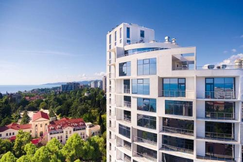 Apartments Barcelona-Park Апартаменты с видом на море