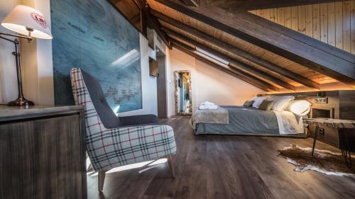 Habitación Doble con bañera de hidromasaje Hotel La Neu 9