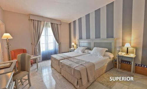Superior Double or Twin Room - single occupancy Alcázar de la Reina 3