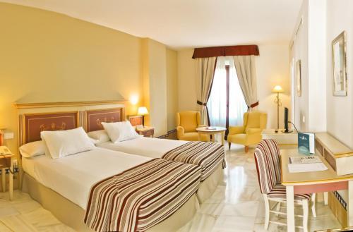 Habitación Doble Estándar - 2 camas  Alcázar de la Reina 4