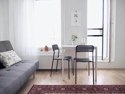 "2ndhomes Tampere ""Lapintie"" Apartment - Serene Apt near Downtown at a Quiet Neighbourhood"