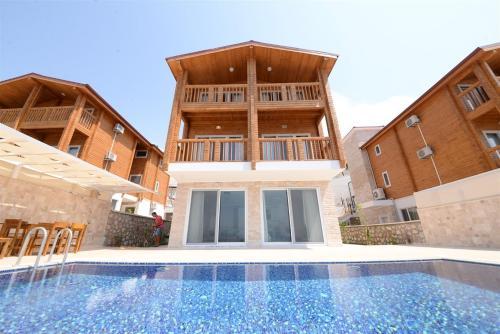 Kalkan Villa Begonvil online rezervasyon