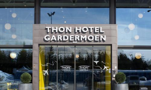 Hotel-overnachting met je hond in Thon Hotel Gardermoen - Gardermoen