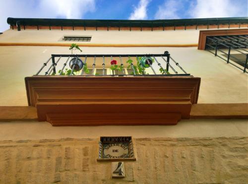 Habitación Doble con balcón  Hotel Boutique Casas de Santa Cruz 7