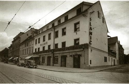 Kersnikova ulica 1, Ljubljana, Slovenia.