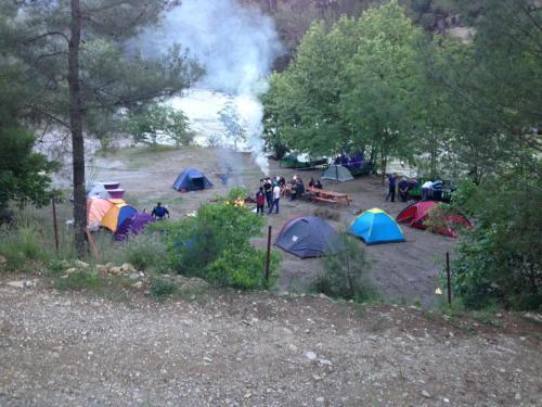 Beşkonak Tornado Rafting Camping