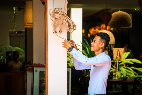 TeaHouse, #32, Street 242,  Phnom Penh, Cambodia.