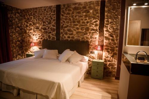 Standard Double Room - single occupancy De Aldaca Rural - Only Adults 12