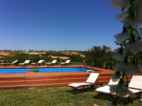 . Modern Apartment in Gemmano Italy with Garden