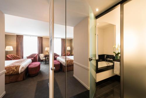 Hotel Dukes' Palace Brugge Улучшенный двухместный номер с 1 кроватью или 2 отдельными кроватями