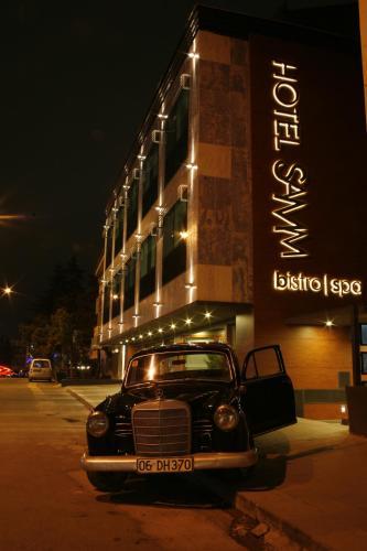 Ankara Hotel Samm Bistro Spa harita