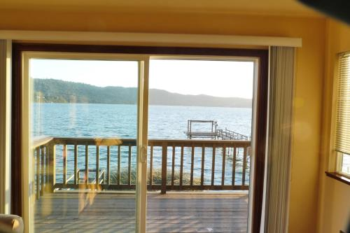 . Overlooking clearlake from the living room