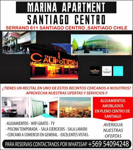 HotelMarina Apartments Santiago Centro