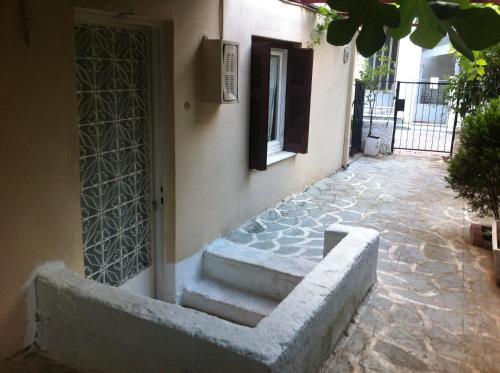 Traditional Greek house in Athens Oda fotoğrafları