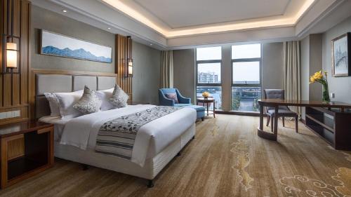 Ramada Shanghai East Номер Делюкс с кроватью размера
