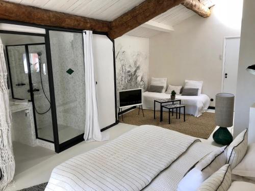 Le Jardin d'Emile 部屋の写真
