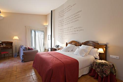 Suite Deluxe con cama extragrande Encís d'Empordà -Adults Only- 1