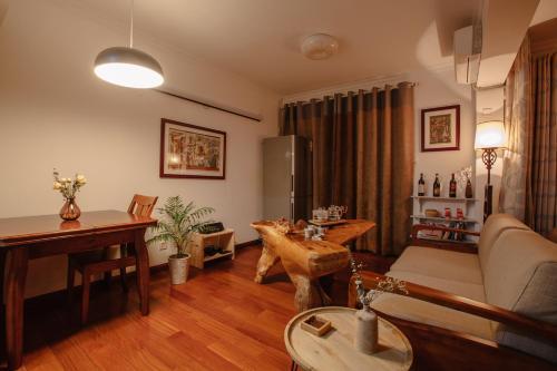 . Open Type Wooden Apartment