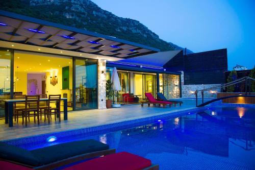 Kalkan Villa Ada online rezervasyon