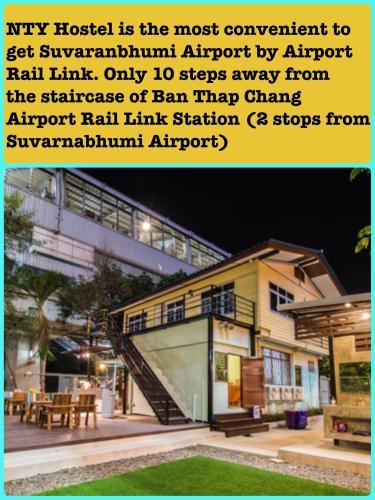 NTY Hostel Near Suvarnabhumi Airport photo 40