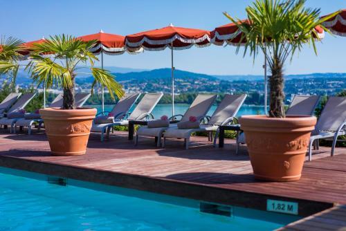 les tresoms lake and spa resort annecy prix photos et avis. Black Bedroom Furniture Sets. Home Design Ideas