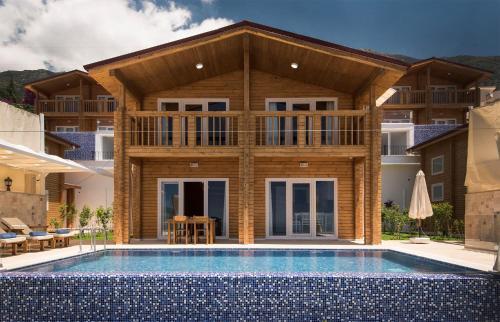 Kalkan Villa Ahşap 2 rooms