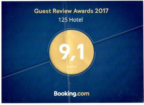 Фото отеля 125 Hotel