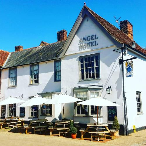 The Angel Hotel Lavenham