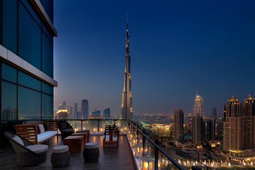 Burj Khalifa Blvd, Dubai, UAE.